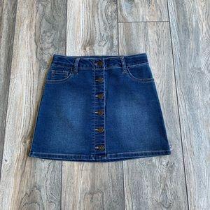 Cat & Jack Stretchy Denim Skirt